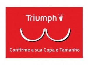 """3d142cdf6 Há poucos dias fui ao site da Triumph no Facebook e vi um post com um  título que me chamou a atenção  """"Sabe qual é o soutien adequado ao seu  peito"""