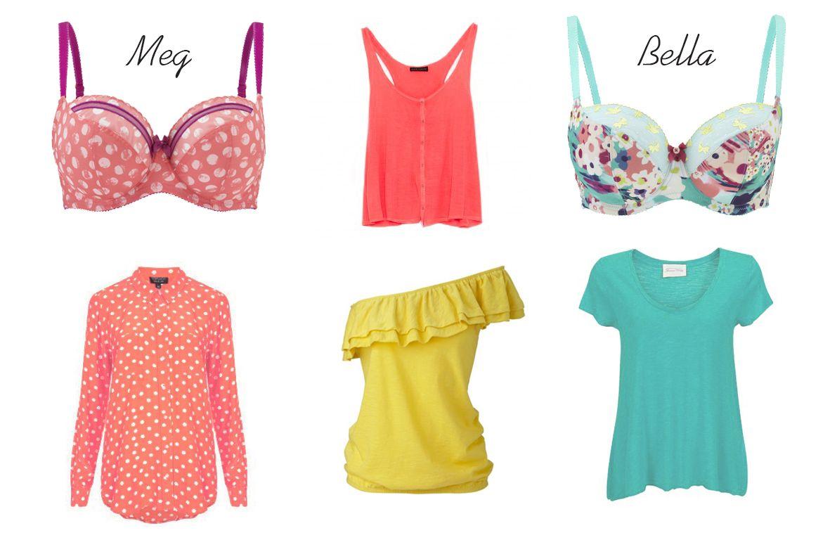 9bcd5d49a Lingerie colorida e roupa descontraída são sinónimos de verão em ...